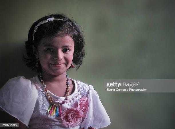 little pakistani girl - pakistan girl stock photos and pictures