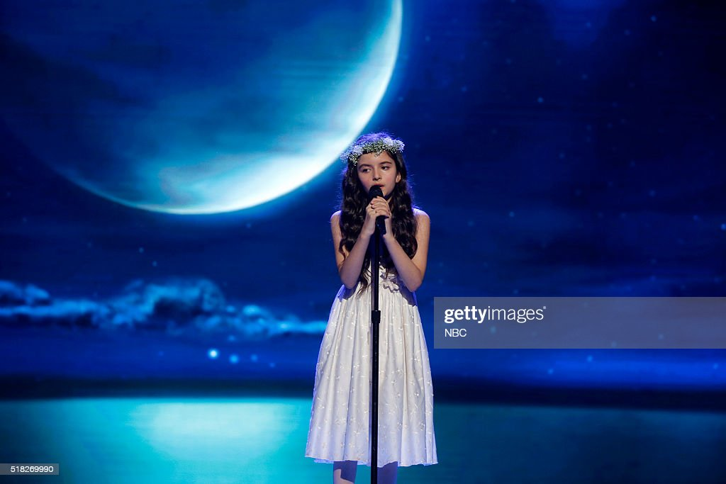 SHOTS -- 'Little Piano Man' Episode 107 -- Pictured: Angelina Jordan --