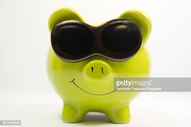 Little piggy smiling