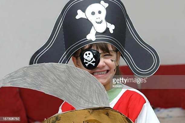 小さな海賊ガール