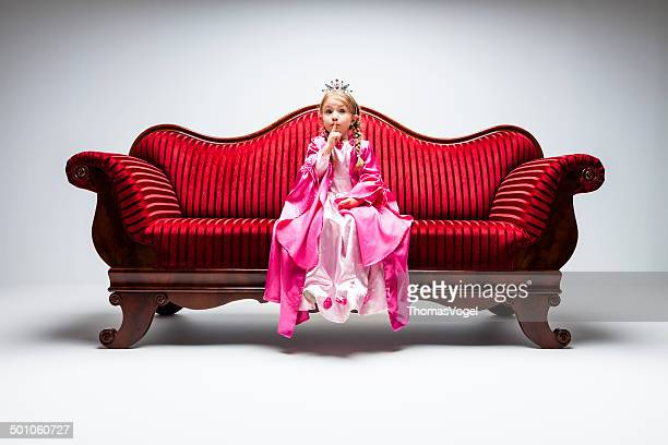 Little Princess -  Child Sofa Vintage Luxury