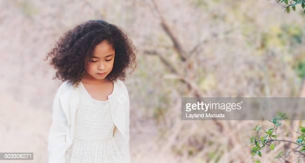 Little Princess Hunting For Easter Eggs