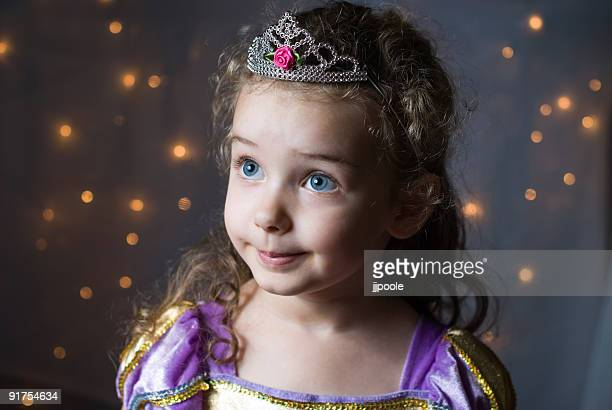 Little princess, magical lights