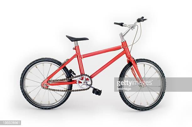 Little Red bicicleta lado