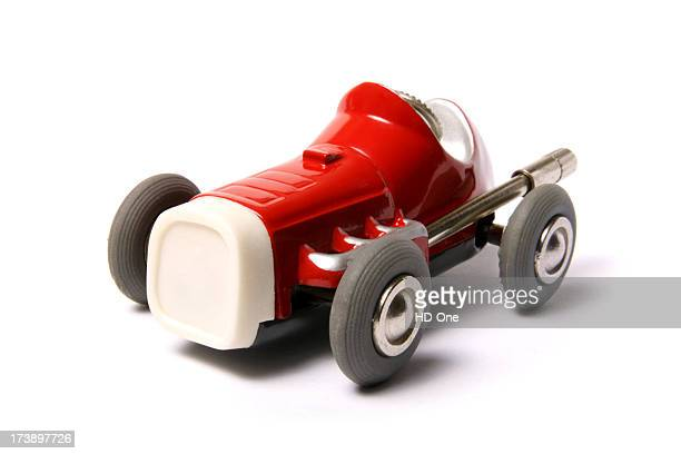 Little Red Retro Toy Car