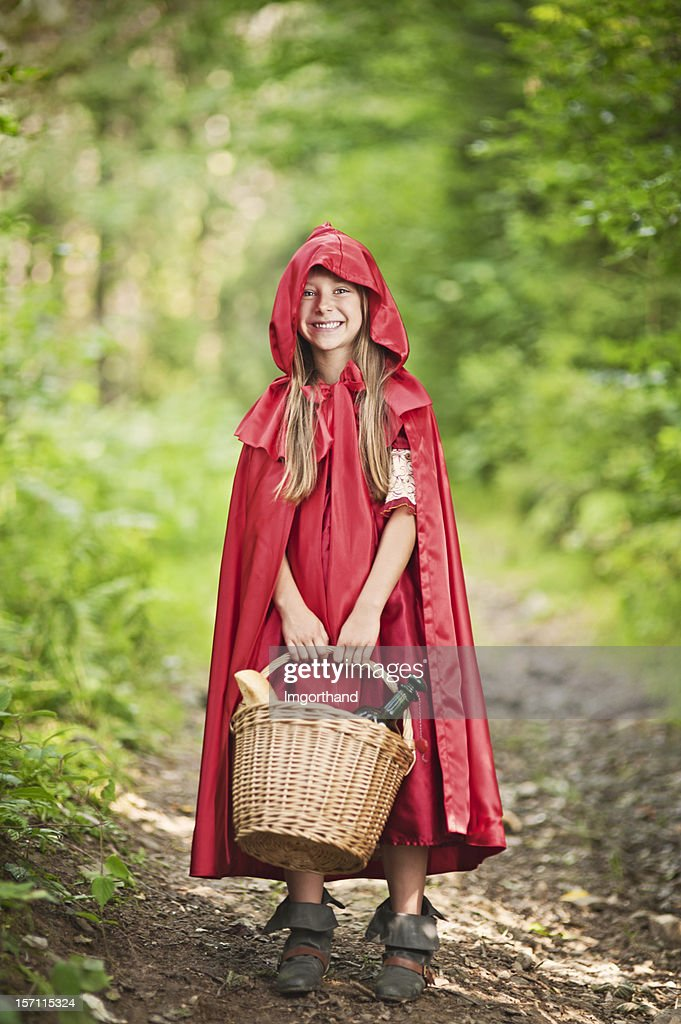 Little Red Riding Hood : Stock Photo