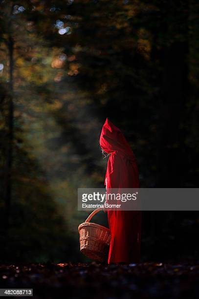 little red riding hood - le petit chaperon rouge photos et images de collection