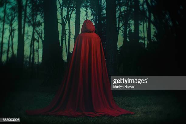 little red riding hood - capuz - fotografias e filmes do acervo