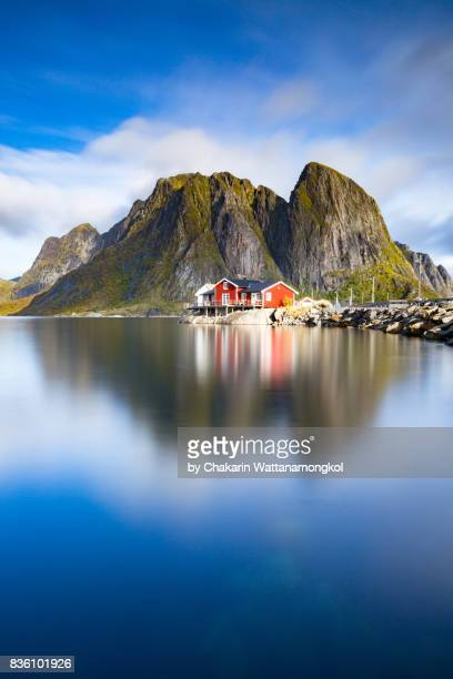 Little Red Rorbuer (Fisherman Cabin) in Lofoten.