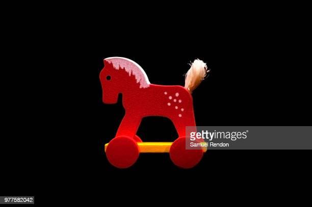 Little red wheel horse