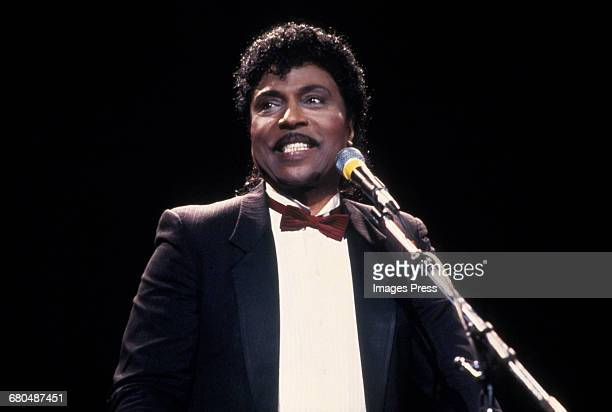 Little Richard at the 1988 Rock n Roll Hall of Fame Induction Ceremony circa 1988 in New York City.