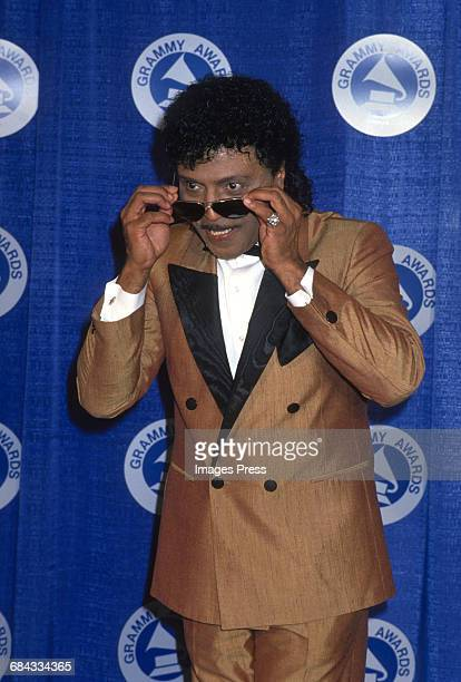 Little Richard attends the 30th Annual Grammy Awards circa 1988 in New York City
