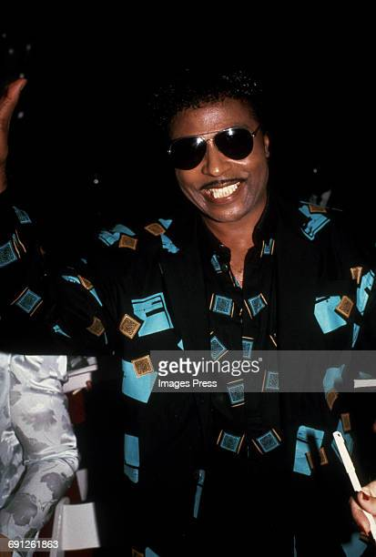 Little Richard attends the Grand Reopening of the Apollo Theater circa 1985 in New York City