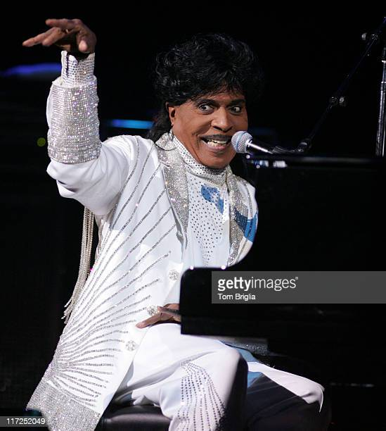 Little Richard during Little Richard in Concert at the House of Blues in Atlantic City - May 13, 2006 at House of Blues in Atlantic City, New Jersey,...
