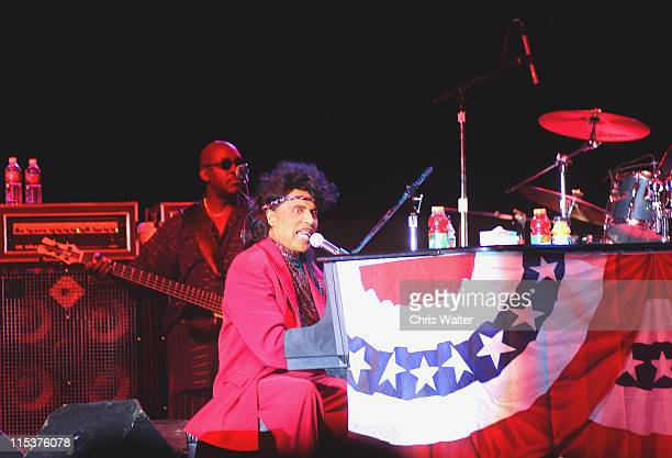 Little Richard Free Independence Day Concert at Fort McDowell Indian Reservation near Phoenix