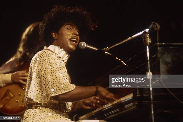 Little Richard in concert circa 1985.