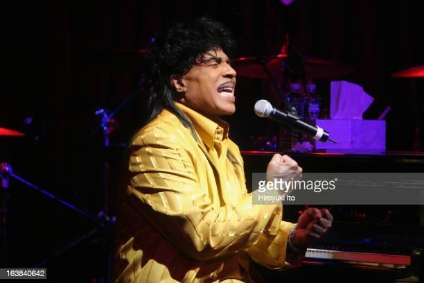 Little Richard performing at B.B. King Blues Club on Monday night, January 15, 2007.