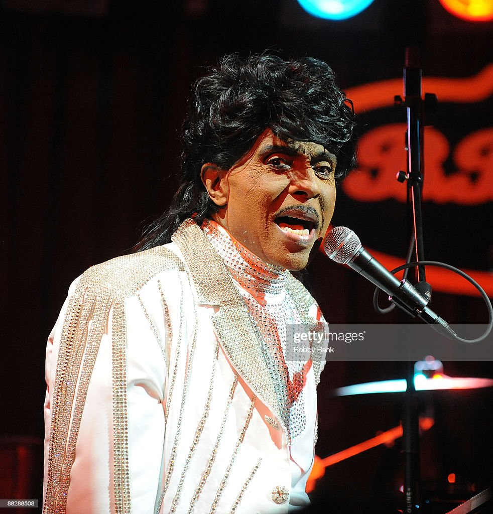 Little Richard performs at B.B. King Blues Club & Grill on June 7, 2009 in New York City.