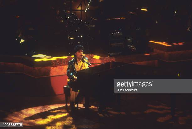 Little Richard performs at Frank Sinatra's 80th Birthday at the Shrine Auditorium in Los Angeles California on November 191995