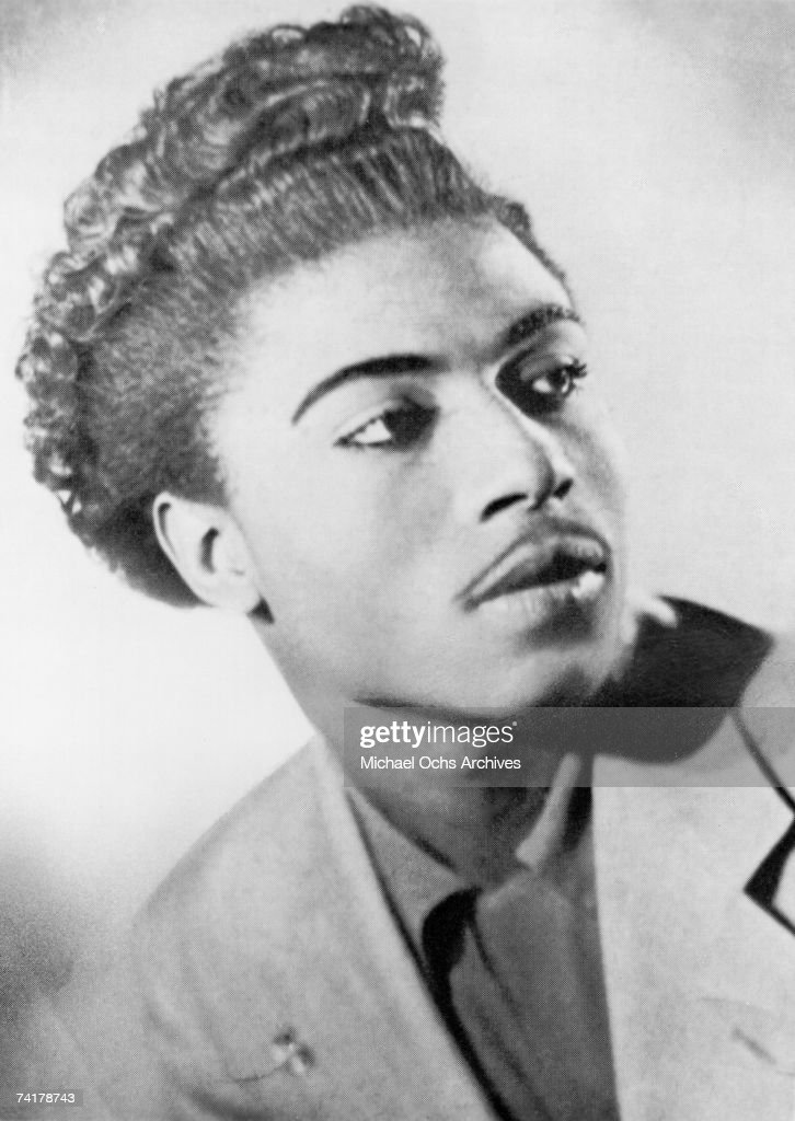 Little Richard Poses For An Early Portrait : News Photo