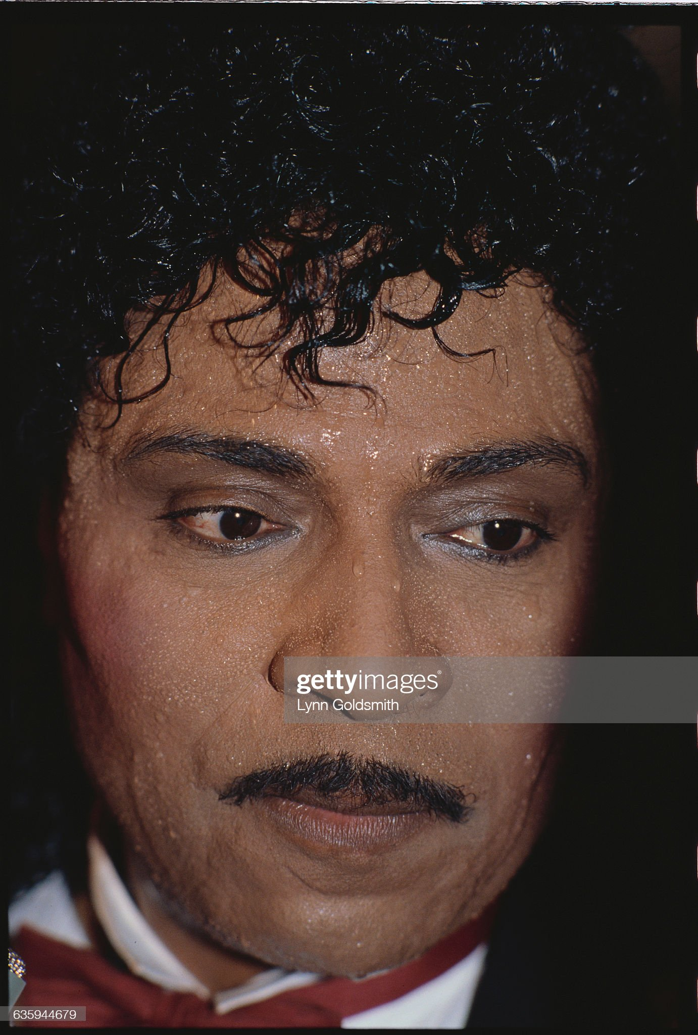 Little Richard Sweating : News Photo