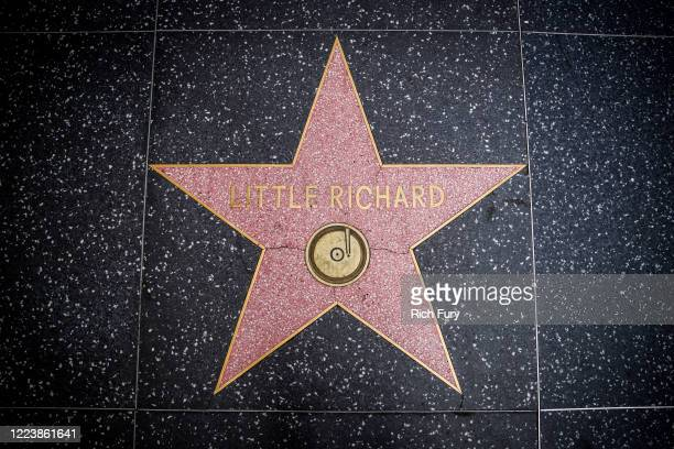 Little Richard's star on the Hollywood Walk of Fame is seen on May 09, 2020 in Los Angeles, California. Little Richard passed away on May 9, 2020 in...