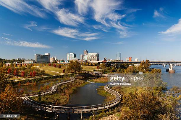 little rock, arkansas, exterior view - arkansas stock photos and pictures