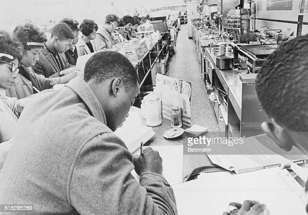 """""""Little Rock-1963"""" As recently as November of 1962, Negroes in Little Rock were staging sit-in demonstrations at downtown lunch counters. This was..."""