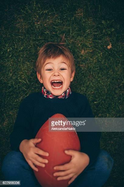 Little rugby fan