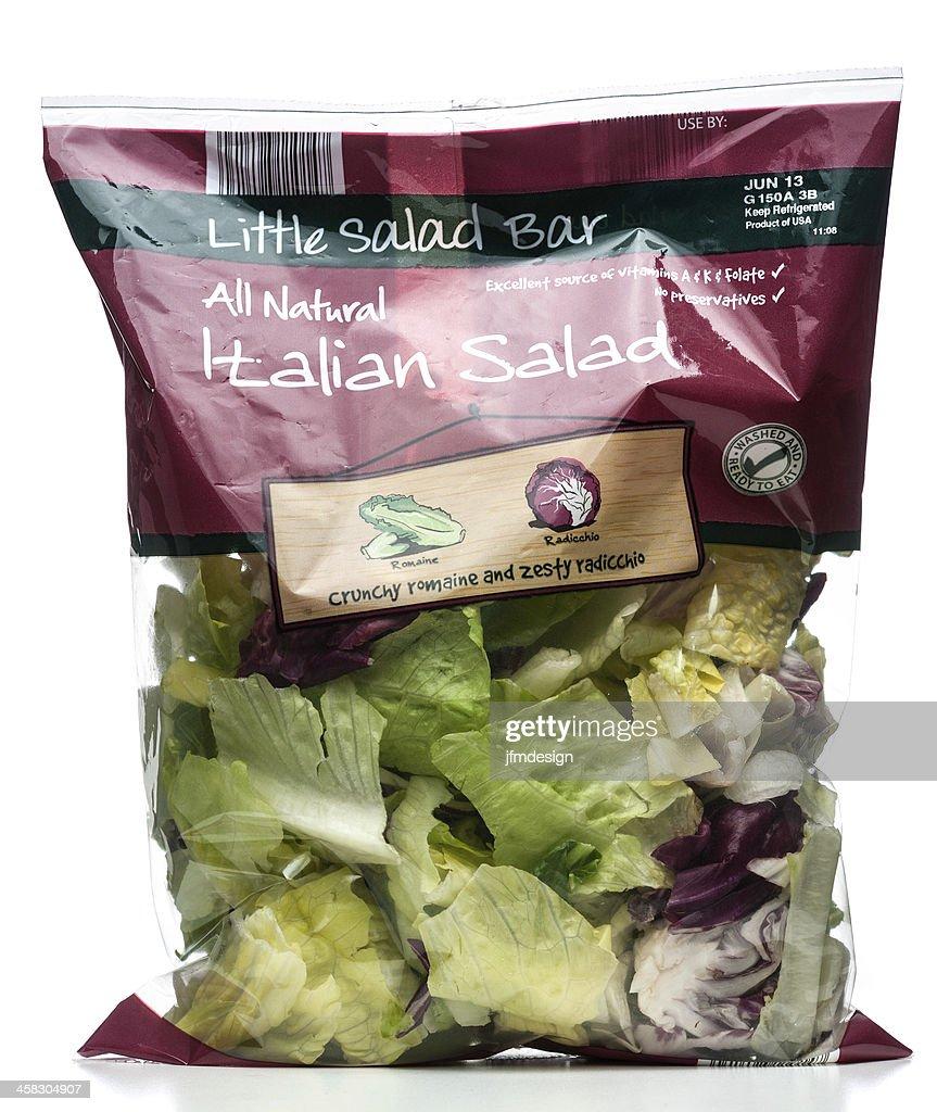 Little Salad Bar Italian bag : Stock Photo