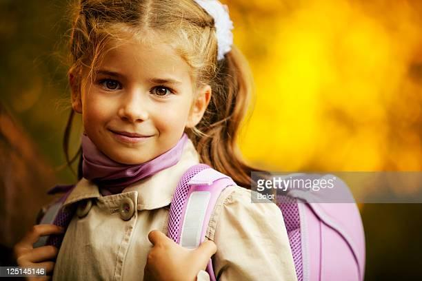 Little Schulkind-Nur Mädchen
