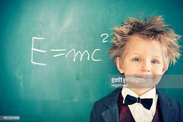 little scientist - einstein stock pictures, royalty-free photos & images