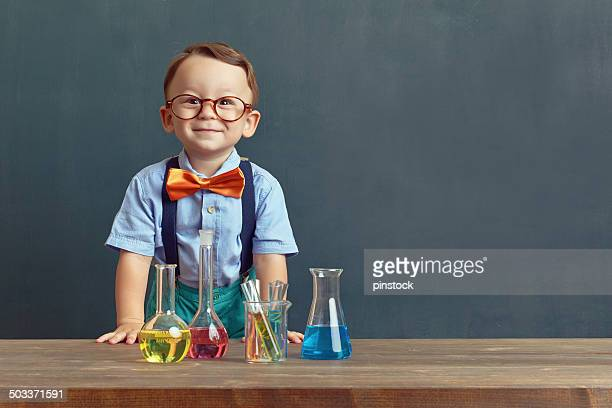 little scientist - chemistry stock pictures, royalty-free photos & images