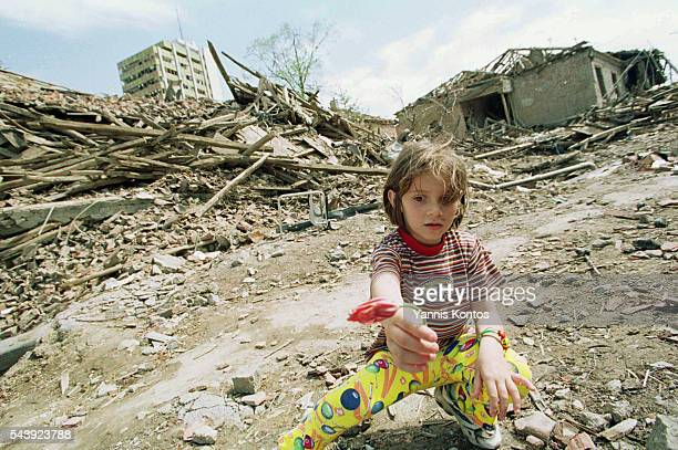 Little Serb girl, Milica Subotic, aged 7.