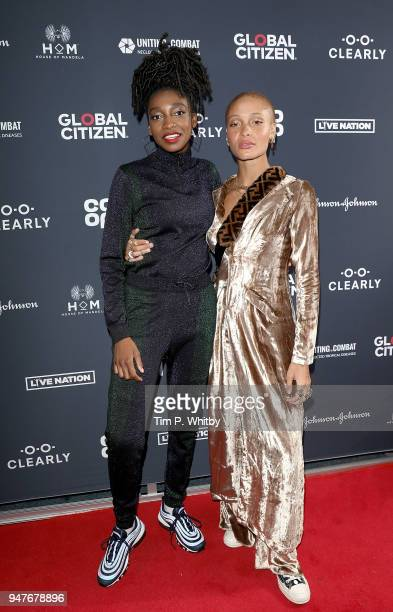 Little Simz and Adwoa Aboah attend as thousands of Global Citizens unite with leading UK artists industry leaders and nonprofit organizations for...