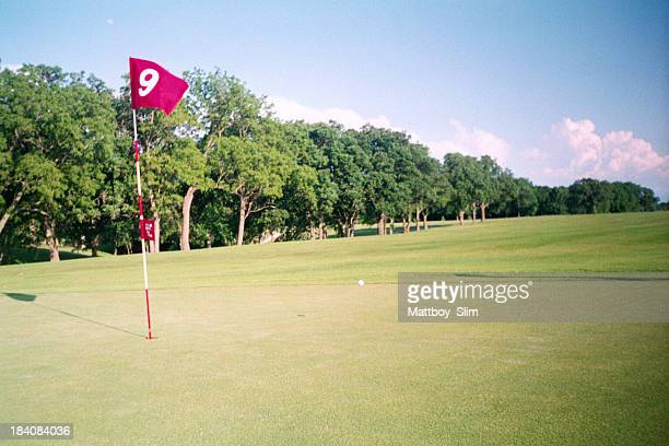 小さなスーゴルフコースの 9 番ホール