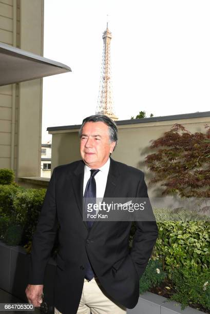 Little son of Gustave Eiffel architect of the Eiffel tower Philippe Couperie Eiffel attend the Chow Tai Fook Jewellry Show Hosted by Bonjour Brand...