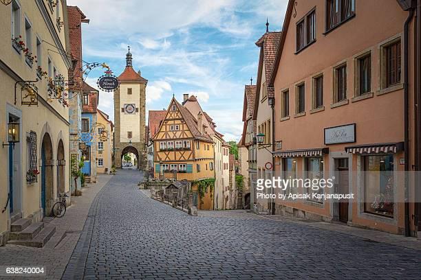 Little Square 'Plönlein' (Rothenburg ob der Tauber Landmark)