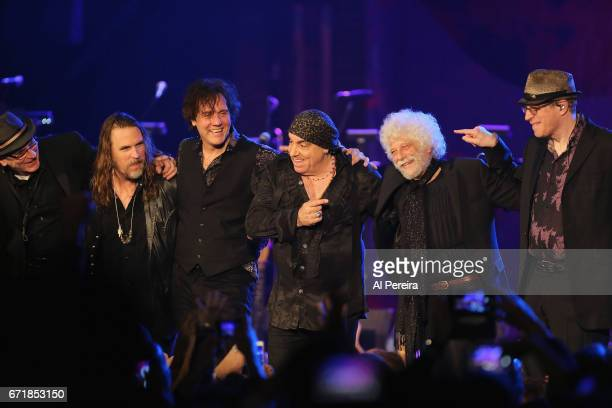 Little Steven and The Disciples of Soul perform during the 2017 Asbury Park Music and FIlm Festival at The Paramount Theatre on April 22 2017 in...