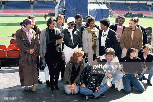 Little Steven Bonnie Raitt Chrissie Hynde Anita Baker Natalie Cole Patti LaBelle Winnie Mandela Peter Gabriel Mica Paris Lou Reed Jim Kerr and Denzel...