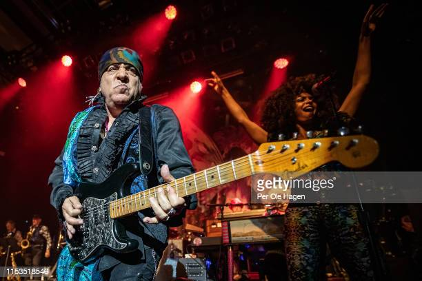 Little Steven van Zandt and Jessica Warner of The Disciples of Soul perform at Rockefeller Music Hall on June 3 2019 in Oslo Norway