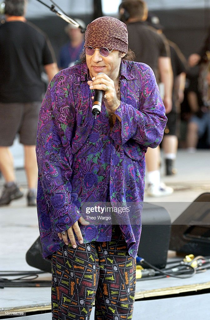 Little Steven Van Zandt during Little Steven's Underground Garage Festival Presented by Dunkin' Donuts - Show - August 14, 2004 at Randall's Island in New York City, New York, United States.