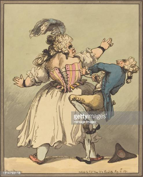 Little Tighter, 1791. Artist Thomas Rowlandson.