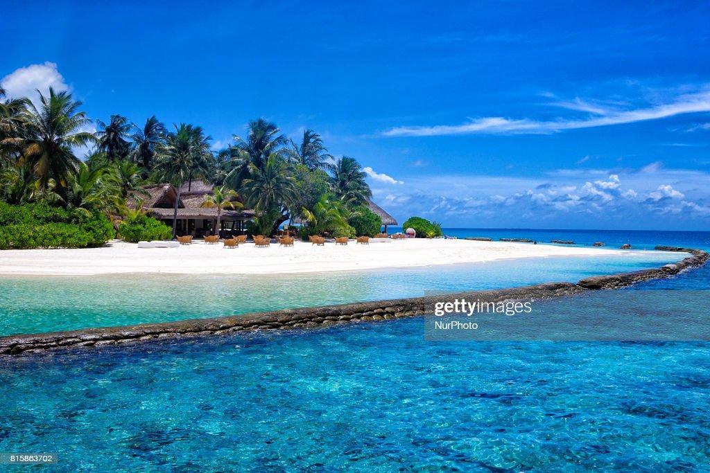 Maldives, little island resorts : News Photo