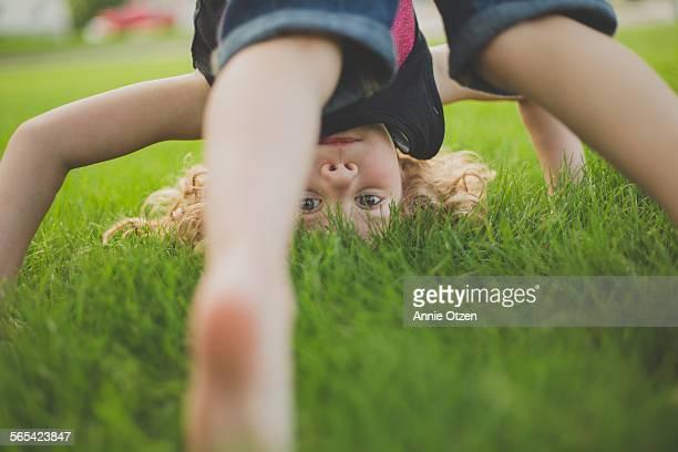 Little upside downgirl