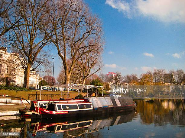 little venice amd barges - paddington london stock pictures, royalty-free photos & images