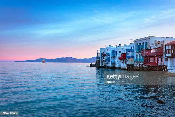 Little Venecia de mikonos, Grecia