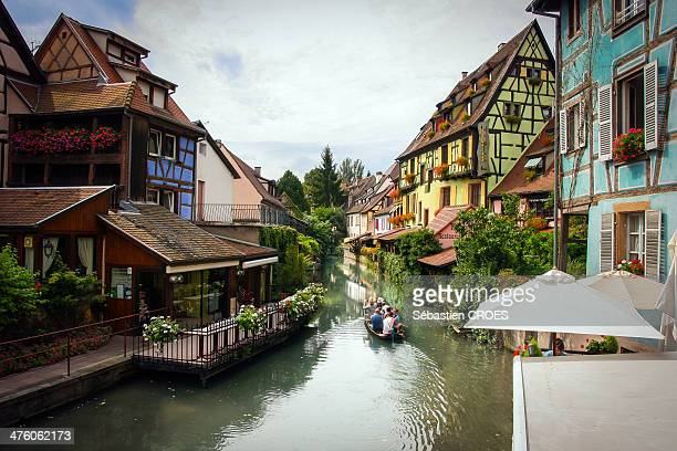 little venice - colmar stock photos and pictures