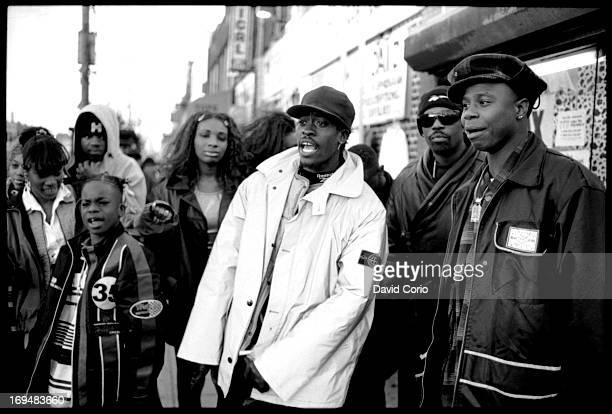 Little Vicious Beenie Man and Doug E Fresh in Flatbush New York 4 November 1995