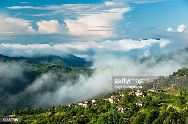 Little village in Rhodope mountains, Bulgaria